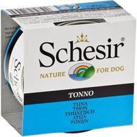 Schesir Jel İçinde Ton Balıklı Konserve Köpek Mamasi 150 Gr