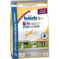 Bosch Adult Mini Lamb Rice Yetişkin Ufak Irk Kuzu Pirinç Köpek Maması 3 Kg