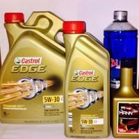 Castrol Edge 5W30 C-3 Bmw Onaylı 4 + 1=5Lt+Dizel Katkı+Cam Suyu
