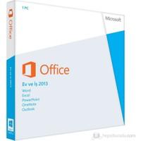 Microsoft Office Ev Ve İş 2013 Kutu