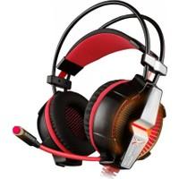 Turbox Gt7000 Kırmızı Ledli Yüksek Sesli Ve Mikrofonlu Oyuncu Kulaklığı