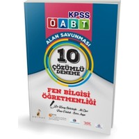 Kpss Öabt Fen Bilgisi Öğretmenliği Alan Savunması 10 Çözümlü Deneme