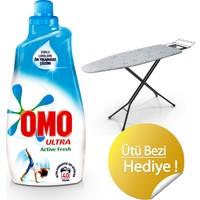 OMO Active Fresh Sıvı Çamaşır Deterjanı 40 Yıkama 1400 ML Ütü Masası Kılıfı Hediyeli