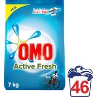 Omo Toz Çamaşır Deterjanı Active Fresh 46 Yıkama 7 Kg