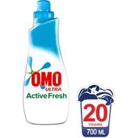 OMO Ultra Sıvı Konsantre Çamaşır Deterjanı Actıve Fresh 20 Yıkama 700 ML kk