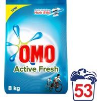 Omo Toz Çamaşır Deterjanı Active Fresh 8 kg