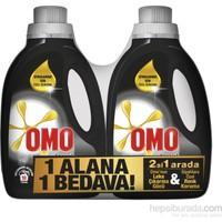 Omo Sıvı Çamaşır Deterjanı Black 1350 ML 2 li Set kk