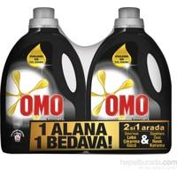 Omo Sıvı Çamaşır Deterjanı Black 2700 ML 2 li Set kk