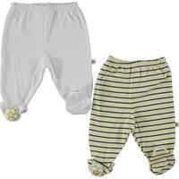 Mini Damla Baskılı Oyuncaklı Patikli Pantolon