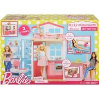 Barbie Renkli Portatif Evi