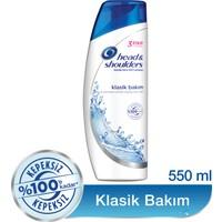 Head & Shoulders Şampuan Klasik Bakım 550 ml