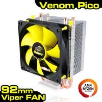 Akasa Venom Pico Intel 775/1155/1156/1150/1151 / AM4 RYZEN /AM2/AM2+/AM3/AM3+ Uyumlu işlemci Soğutucu (AK-CC4009EP01)