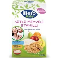 Hero Baby Sütlü Meyveli 8 Tahıllı Kaşık Maması 480 gr