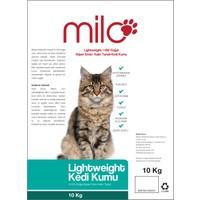Milo Lightweight %100 Doğal Süper Emici Kalın Taneli Kedi Kumu 10 Kg