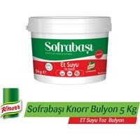 Sofrabaşı Knorr Et Suyu Toz Bulyon 5 KG