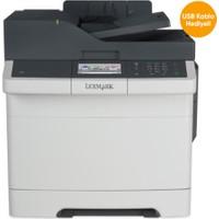 Lexmark CX417DE MF Tarayıcı + Fotokopi + Fax + Laser Yazıcı 1.400 Sayfa Siyah 750 Sayfa Renkli Toner
