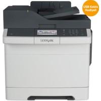Lexmark CX310dn Fotokopi + Tarayıcı + Laser Yazıcı 1.400 Sayfa Siyah 750 Sayfa Renkli Toner