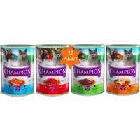 Champion 12'Li Karışık Kedi Maması
