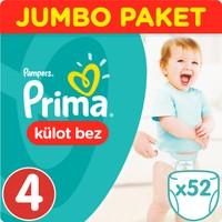 Prima Pants Külot Bebek Bezi Maxi Jumbo Paket 52 Adet