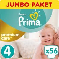 Prima Bebek Bezi Premium Care Jumbo Paket 4 Beden 56 Adet