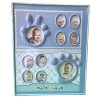 Küçük İzler Mavi Fotoğraf Albümü - 240 Fotoğraflık