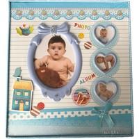 Küçük İzler Mavi Fotoğraf Albümü - 120 Fotoğraflık