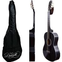 Gitar Klasik Siyah DNZ275BK (KILIF HEDİYE) Donizetti