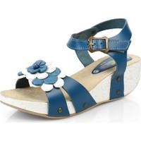 Minican Filet Sandalet Mavi