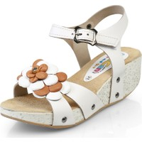 Minican Filet Sandalet Beyaz