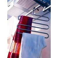 5 Katlı Metal Pantolon Eşarp Askısı