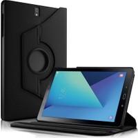 Microsonic Samsung Galaxy Tab S3 9.7'' T820/T825 Kılıf 360 Dönerli Stand Deri Siyah