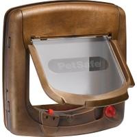 Petsafe 420 EF Staywell Deluxe Mıknatıslı 4 Yönlü Kilitli Kapı Ahşap Rengi