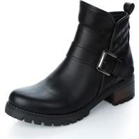Rebel 3033 Siyah Cilt Ayakkabı