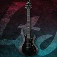 Esp Ltd LF50BLK Black Elektro Gitar