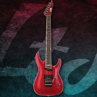 Esp Ltd LMH-327FMSTR Thru Red Elektro Gitar