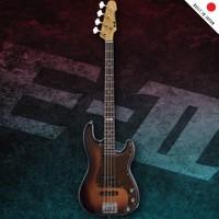 Esp Ltd E-II Vintage-4 PJ 3-Tone BurstBas Gitar
