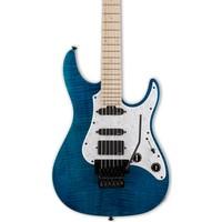 ESP LTD SN-1000FR EMG AQUA MARINE Elektro Gitar (LSN1000FRFMMAQM)