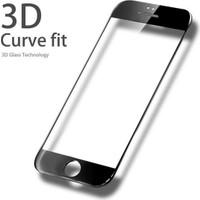 Atolla Apple iPhone 6/6S 3D Kavisli Full Cam Ekran Koruyucu