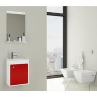 Bestline City 40 Cm Banyo Dolabı - Kırmızı