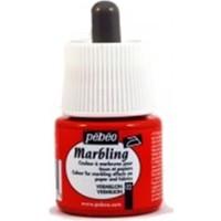 Pebeo Marbling (Ebru Boyası) 02 Vermilion 45Ml