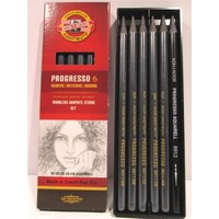 Koh I Noor Woodless Graphıte Pencil 6 Lı Set