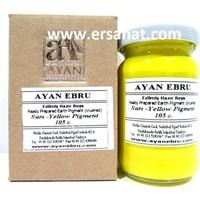 Ayan Ebru Boyası (Ezilmiş) Pigment Sarı 105 Cc