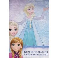 Karlar Ülkesi Frozen Paketli Kum Boyama Seti Pk-48