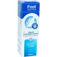 Foot Doctor Ayak Bakım Spreyi 75 Ml Hijyenik