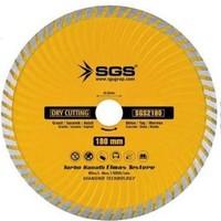 Sgs 230Mm Turbo Kanallı Elmas Testere Sgs2230 (1 Adet)