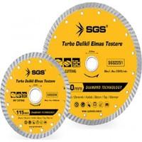 Sgs 180Mm Turbo Delikli Elmas Testere Sgs2251 (1 Adet)