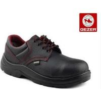Gezer Çelik Burunlu Deri Ayakkabı Siyah 43 No (1 Çift)