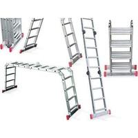 Akrobat Çok Amaçlı Alüminyum Merdiven (3,70 M) (1 Adet)