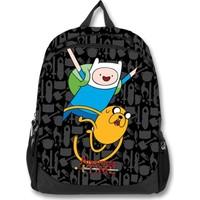 Adventure Time Siyah Sırt Çantası (1896)