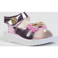 Akım D23 Cırtlı Topuklu Günlük Kız Çocuk Sandalet